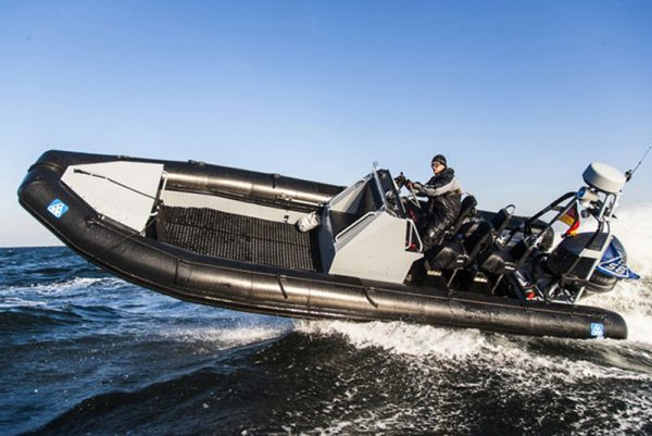 Survitec 8.2 Semi Rigid Inflatable Boat