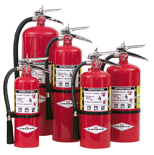 Amerex ABC Multi-purpose stored pressure Dry chemical fire extinguishers