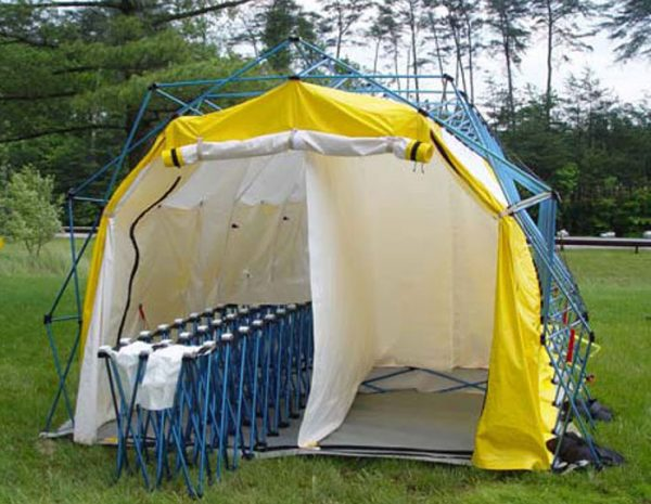 Airboss Decontamination Shelters