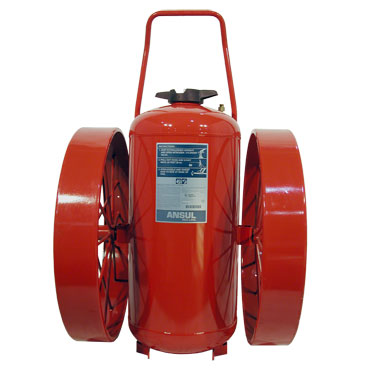 Ansul RED LINE WHEELED UNITS DRY CHEMICAL