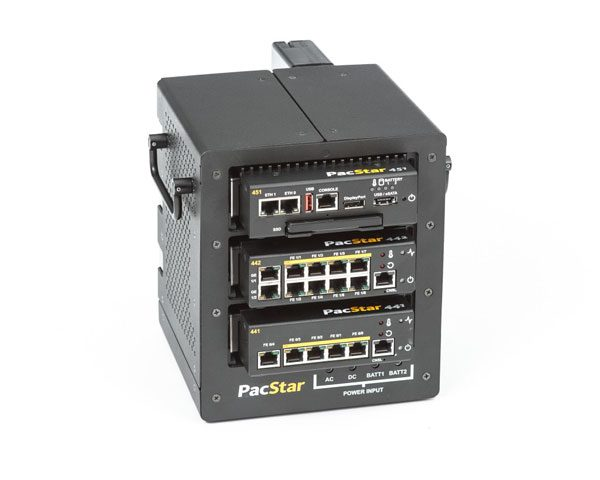 PacStar 400-Series Desktop Chassis