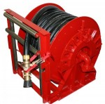 Hellan Strainer Company AFFF Fire Fighting Hose Reels
