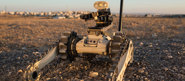 Roboteam Micro Tactical Ground Robot