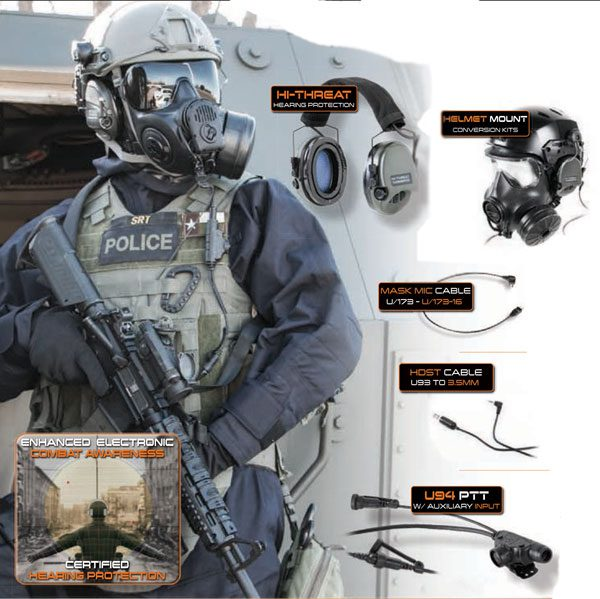 TEA Hi-Threat Tier 1 Tactical Hazmat Communication Kit