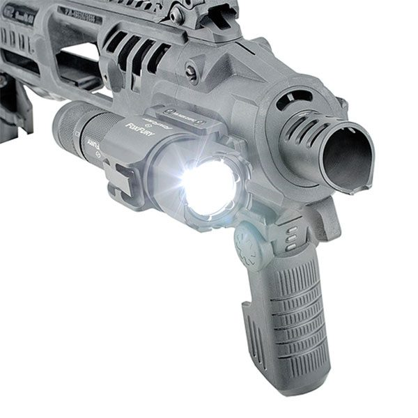 FoxFury SideSlide Picatinny Weapon Light and Flashlight