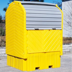 Ultra Tech Ultra-IBC Spill Pallets® Hard Top