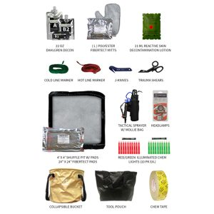 First Line Technology Enhanced Decon Systems (EDS) Kit