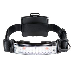 FoxFury Command+ Tilt White & Amber LED Headlamp/Helmet Light